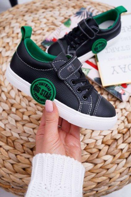 Detské tenisky farba čierna kód obuvi FF374087 BLK
