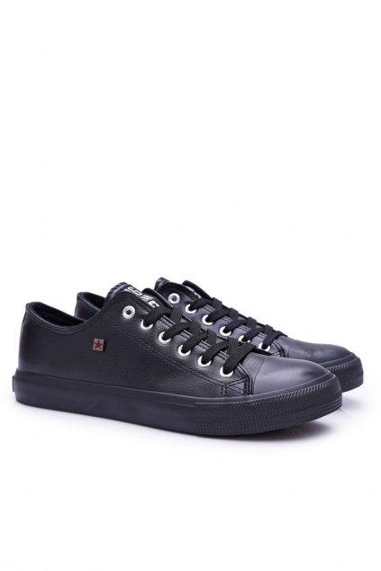 Čierna obuv kód topánok V174345 BLK
