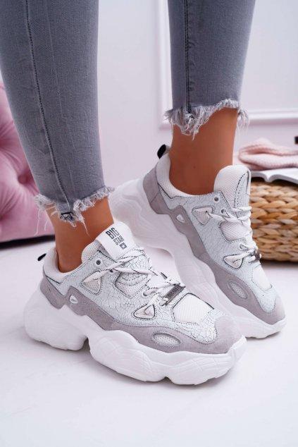 Dámska športová obuv B. Star by Daniel Lopez biele FF274430 WHITE