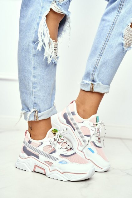 Dámska športová obuv Bilá Lanoo