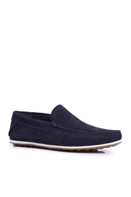 Pánske poltopánky farba modrá kód obuvi FF1N3059 NAVY