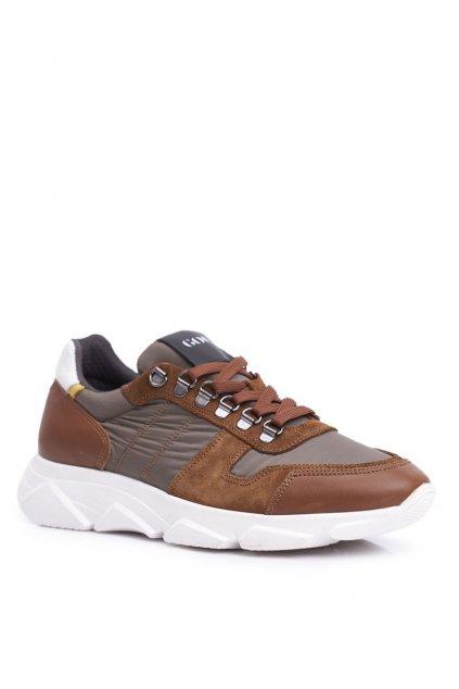 Hnedá obuv kód topánok FF1N3021 BROWN