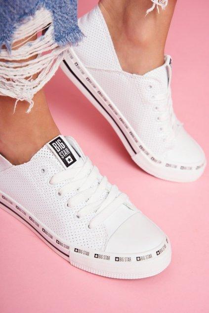 Dámske tenisky farba biela kód obuvi FF274024 WHITE