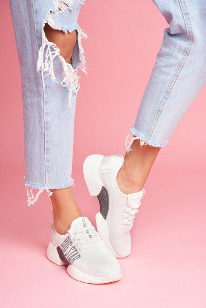 Dámske tenisky farba biela kód obuvi FF274282 WHITE