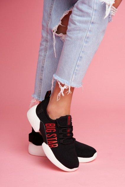Dámske tenisky farba čierna kód obuvi FF274278 BLK
