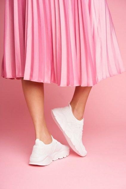 Dámske tenisky farba biela kód obuvi FF274954 WHITE