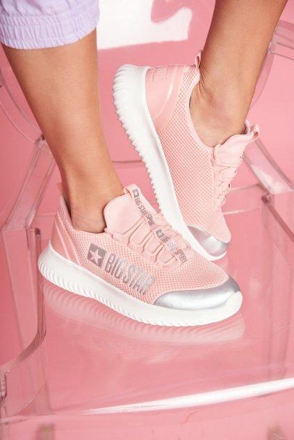 Dámska športová obuv B. Star svetle ružová FF274A413