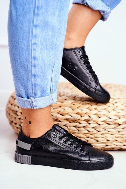 Dámske tenisky farba čierna kód obuvi FF274177 BLK GREY