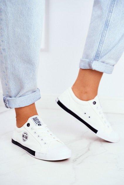 Dámske tenisky farba biela kód obuvi FF274228 WHITE
