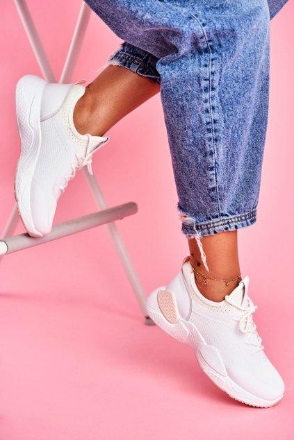 Dámska športová obuv Ružovobiela Fellen