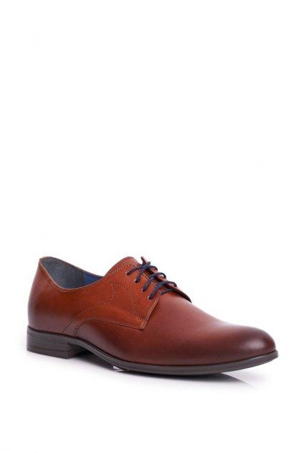 Pánske poltopánky farba hnedá kód obuvi 1735 BROWN BC.40