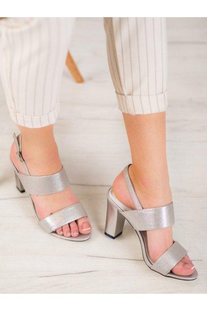 Sivé sandále Goodin kod FL142C-T
