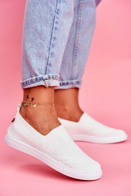 Dámske tenisky farba biela kód obuvi FF274A608 WHITE