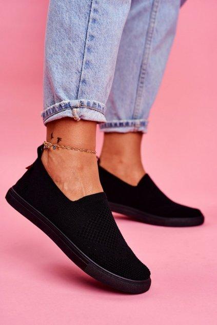 Dámske tenisky farba čierna kód obuvi FF274A609 BLK