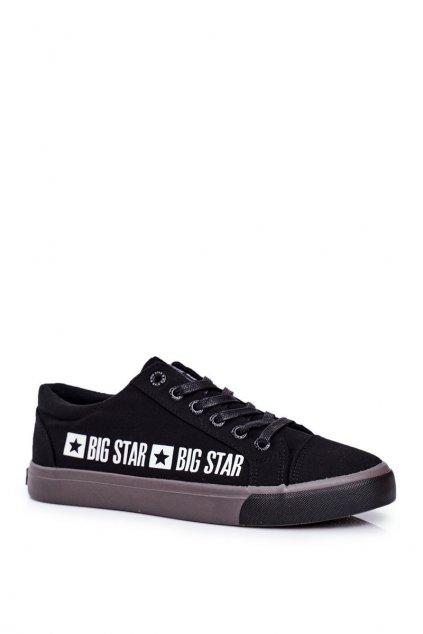 Čierna obuv kód topánok FF174527 BLK