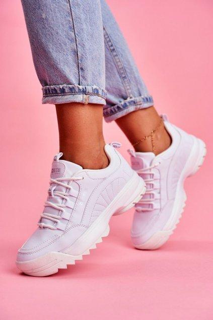 Dámska športová obuv B. Star biele FF274681