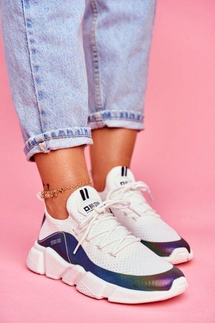 Dámske tenisky farba biela kód obuvi FF274A052 WHITE