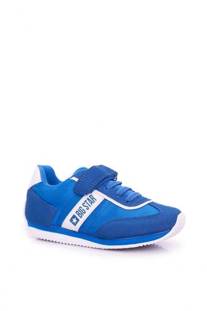 Detské tenisky farba modrá kód obuvi FF374133 BLUE