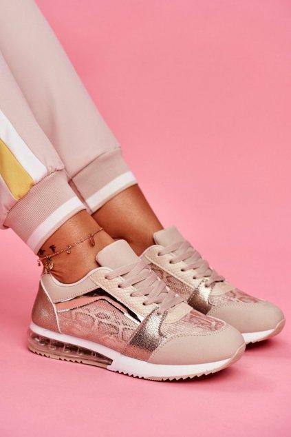 Dámska športová obuv Sneakers béžová Helly