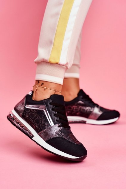 Dámska športová obuv Sneakers čierna Helly