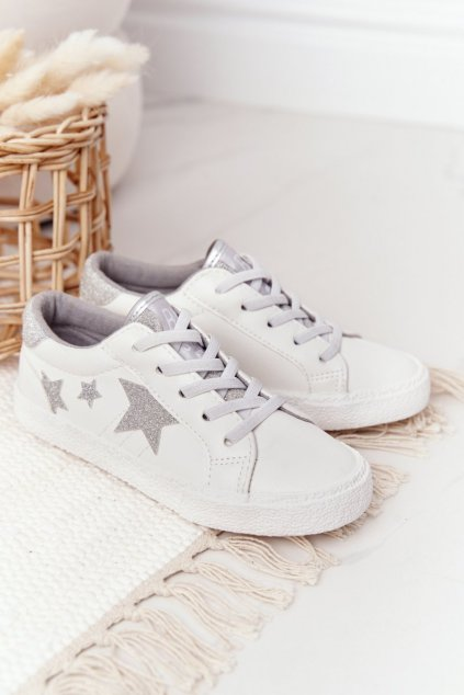 Detské Tenisky B. Star Slip-on biele FF374034