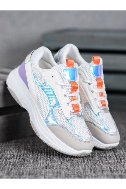 Biele topánky Bona kod H-3W