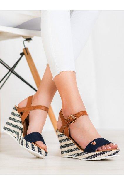 Modré sandále Goodin kod FL145B-N