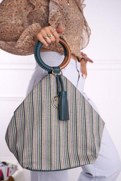 Dámska kabelka zelená kód kabelky NBAG-I1951-CM08 PINK