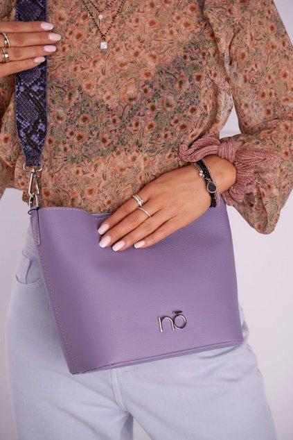 Dámska listová kabelka fialová kód kabelky NBAG-I2610-C014 VIOLET