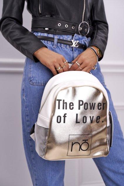 Dámska kabelka biela kód kabelky NBAG-I1990-CM00 WHITE GOLD
