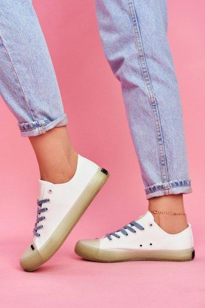 Dámske tenisky farba biela kód obuvi FF274256 WHITE