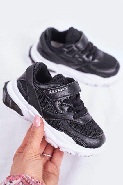 Detské tenisky farba čierna kód obuvi B933204077 BLK