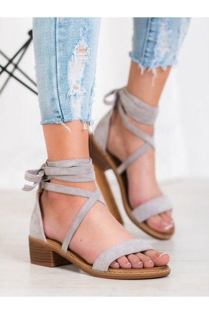 Sivé sandále Seastar kod LL-227G