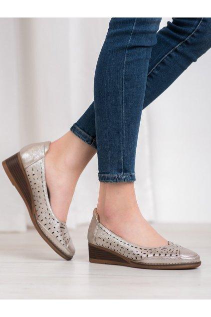 Sivé topánky Vinceza kod XY20-10520GD