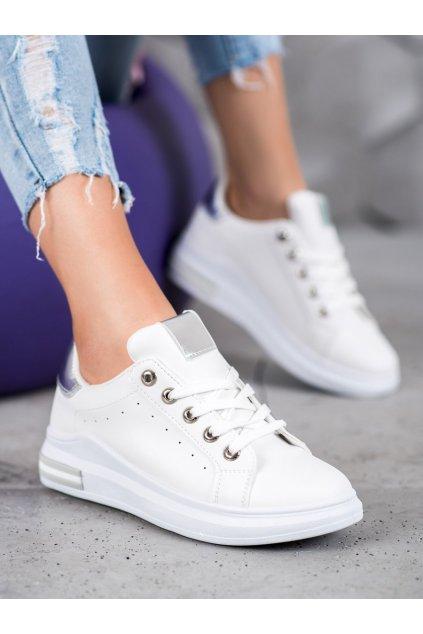 Biele tenisky Shelovet kod BO-550W/S