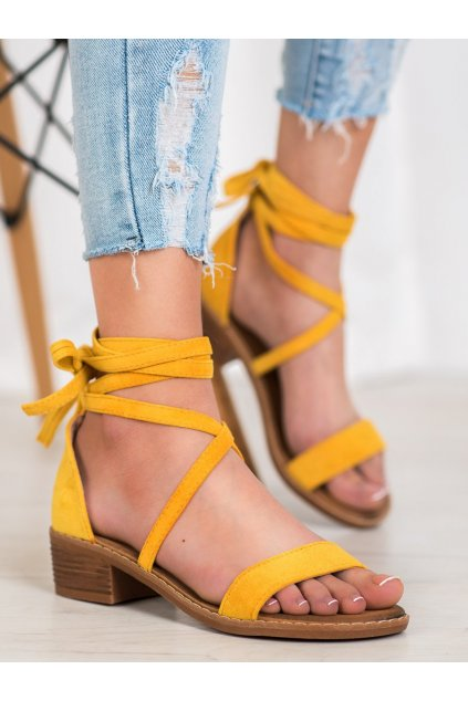 Žlté sandále Seastar kod LL-227Y