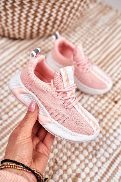 Detské tenisky farba ružová kód obuvi 1741 PINK