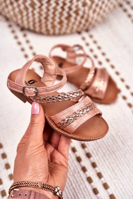 Detské Sandále Champagne Kremo