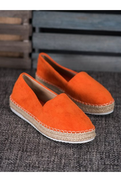 Oranžové tenisky Small swan kod X543OR