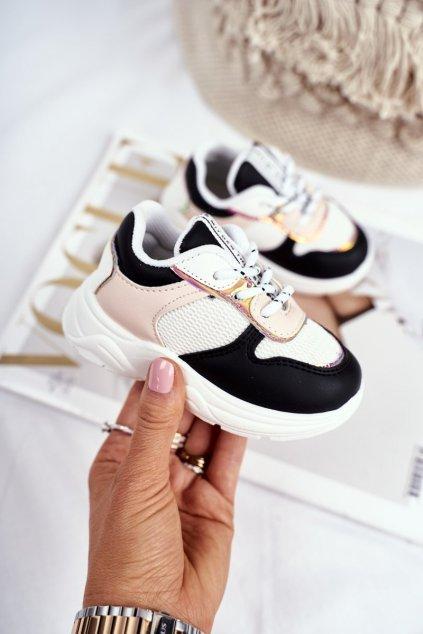 Detské tenisky farba čierna kód obuvi 892 BLK