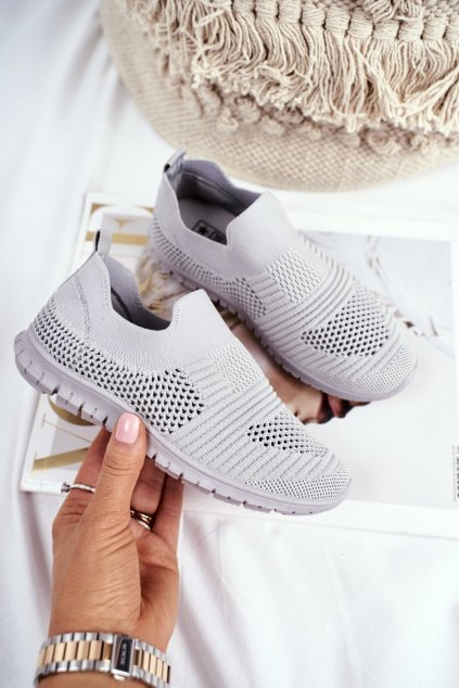 Detské tenisky farba sivá kód obuvi 20DZ30-1920 GREY
