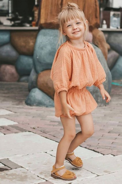 Detské sandále farba žltá kód obuvi 233 YELLOW
