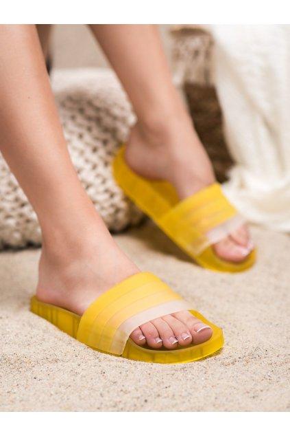 Žlté šľapky Shelovet kod AMUNA500Y
