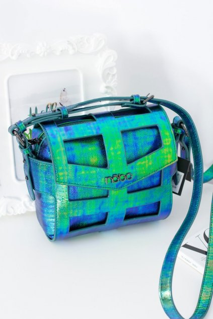 Nobo Dámska zelená kabelka NBAG-E4103-C008