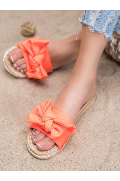 Oranžové šľapky Shelovet kod WS9020OR