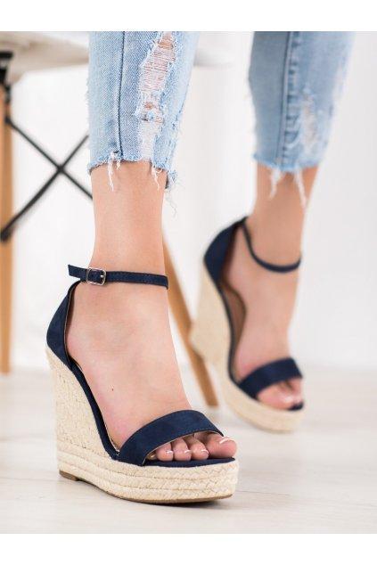 Modré sandále Shelovet kod NGSJ-3DK.BL