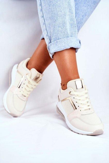 Dámska športová obuv béžová Sparks