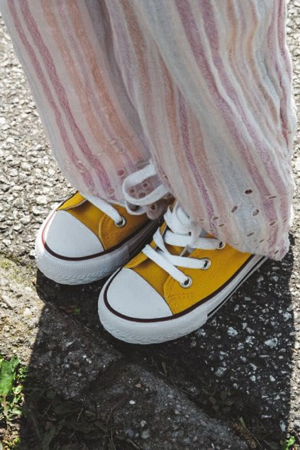 Detské Tenisky žlté Filemon