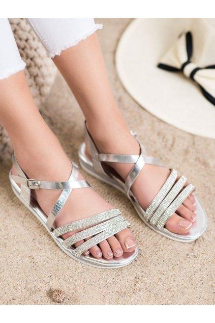 Sivé sandále Shelovet kod D-120S