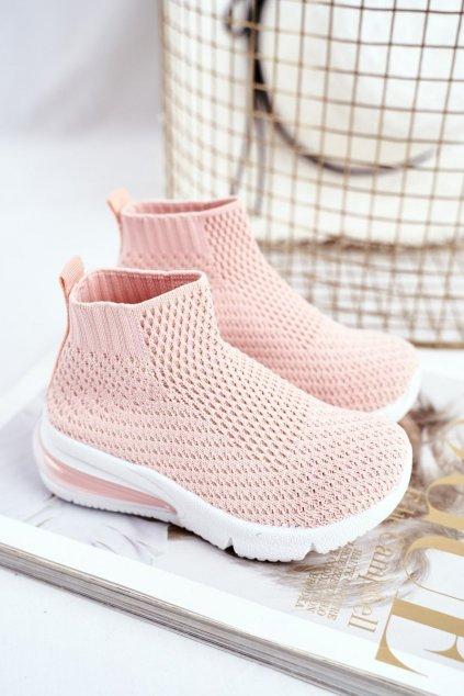 Detské tenisky farba ružová kód obuvi 669-B PINK